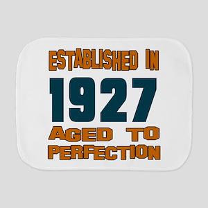 Established In 1927 Burp Cloth