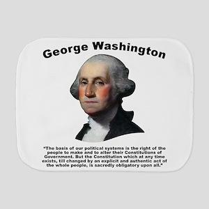 Washington: Constitution Burp Cloth