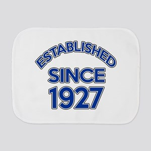 Established Since 1927 Burp Cloth
