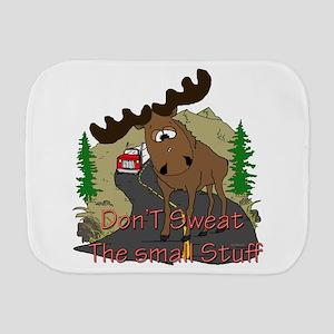 Moose fun Burp Cloth