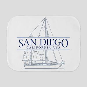 San Diego - Burp Cloth