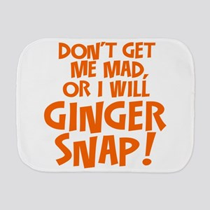 Ginger Snap Burp Cloth