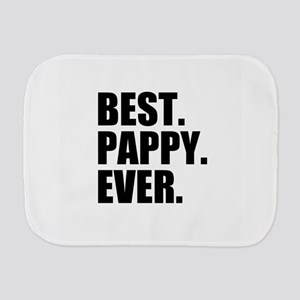 Best Pappy Ever Burp Cloth
