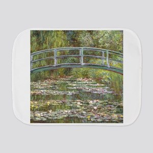 Monet Bridge over Water Lilies Burp Cloth