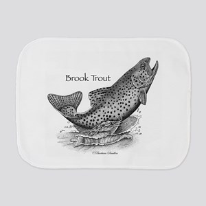 Brook Trout Burp Cloth