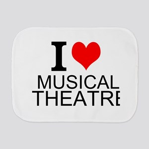 I Love Musical Theatre Burp Cloth