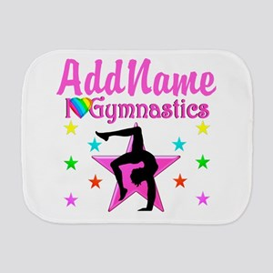 GYMNAST GIRL Burp Cloth