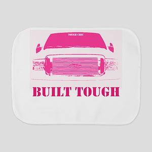 Pink Built Tough Burp Cloth