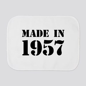 Made in 1957 Burp Cloth