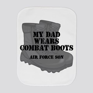 AF Son Dad CB Burp Cloth