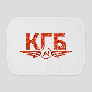 KGB Emblem Red Burp Cloth