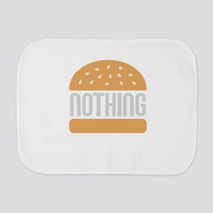 Nothing Burger Burp Cloth