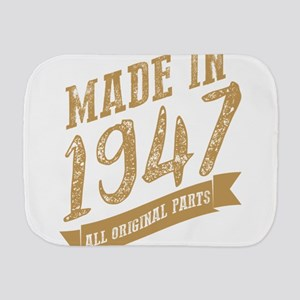 Made in 1947 all original part gold Burp Cloth