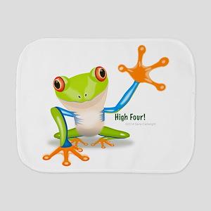 Freddie Frog Burp Cloth