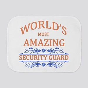 Security Guard Burp Cloth