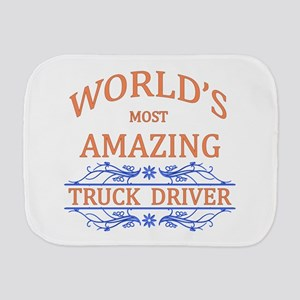 Truck Driver Burp Cloth