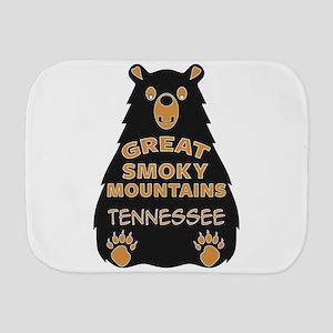 Great Smoky Mountains Bear National Par Burp Cloth