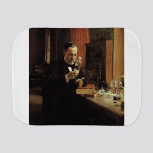 louis pasteur Burp Cloth