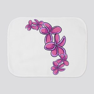 Tropical Flowers Burp Cloth