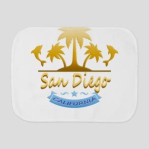 San Diego Dolphins Ocean Burp Cloth