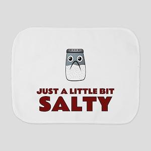 Just a Little Bit Salty Burp Cloth