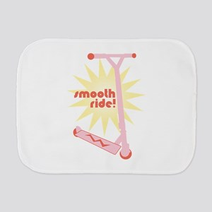 Smooth Ride! Burp Cloth
