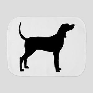 Coonhound Dog (#2) Burp Cloth