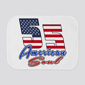 55 American Soul Birthday Designs Burp Cloth