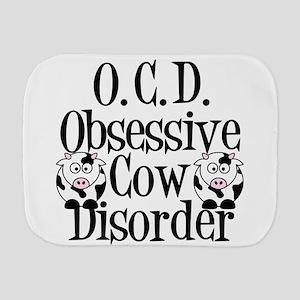 Obsessive Cow Disorder Burp Cloth
