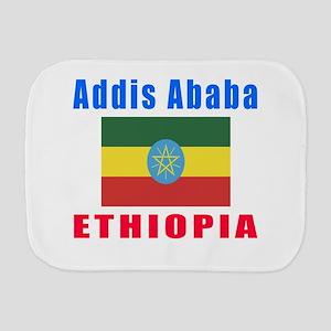 Addis Ababa Ethiopia Designs Burp Cloth