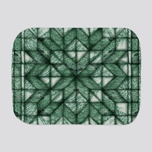 Green Marble Quilt Burp Cloth