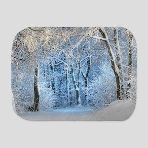 Another Winter Wonderland Burp Cloth