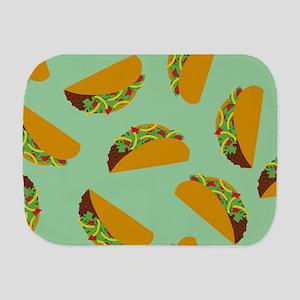 Taco Pattern Burp Cloth