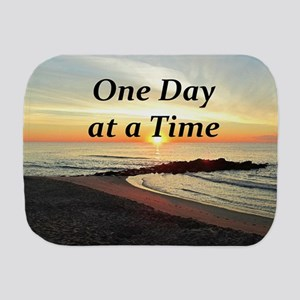 ONE DAY AT A TIME Burp Cloth