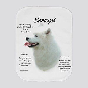 Samoyed Burp Cloth