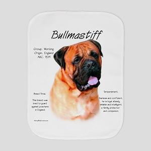 Bullmastiff (red) Burp Cloth