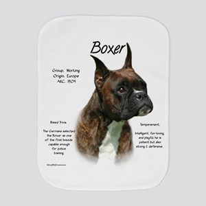 Boxer (brindle) Burp Cloth