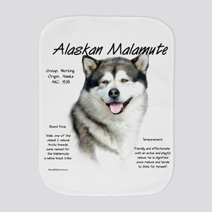 Alaskan Malamute Burp Cloth