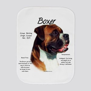 Boxer (natural) Burp Cloth