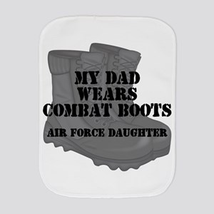 AF Daughter Dad CB Burp Cloth