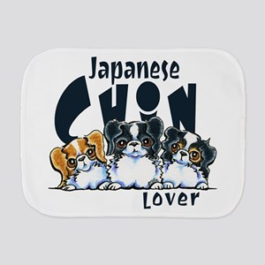 Japanese Chin Lover Burp Cloth