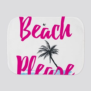 Beach Please Burp Cloth