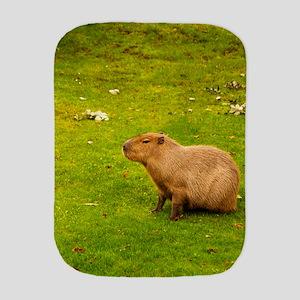 Capybara Burp Cloth