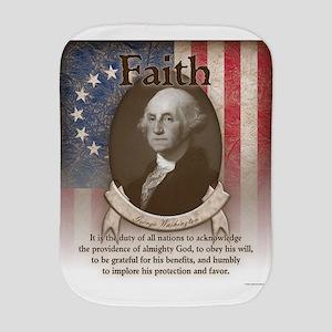 George Washington - Faith Burp Cloth