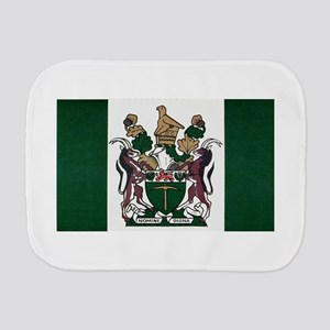 Rhodesia Flag Burp Cloth