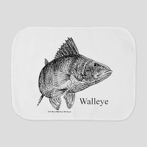 Walleye Burp Cloth
