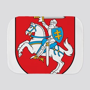 Lithuania Emblem Coat of arms Lietuvos Burp Cloth