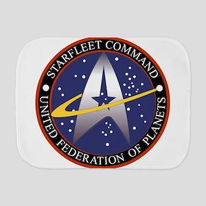 Starfleet Command Emblem Burp Cloth