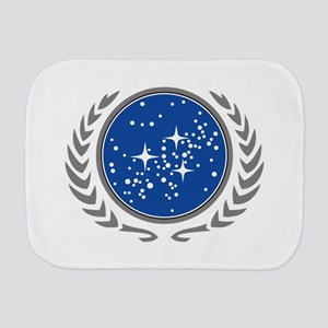 United Federation of Planets Burp Cloth