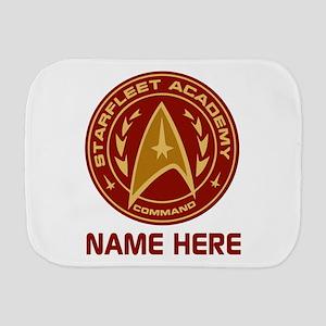 Starfleet Academy Personalized Burp Cloth